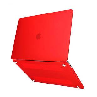 Пластикова накладка MacBook 12 красный