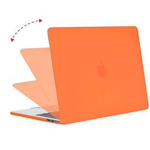 Пластикова накладка MacBook Pro 15 оранжевый