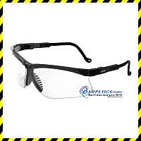 Очки для стрельбы Uvex Genesis S3200X Advanced, прозрачные линзы, USA.