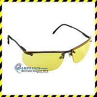 Очки для стрельбы Howard R-01771, желтые  линзы, метал. USA., фото 1