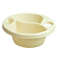 Гигиеническая миска Maltex Top and tail bowl  beige