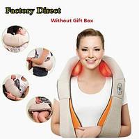 Универсальный бытовой массажёр роликовый для шеи и плеч Massager of Neck Kneading, эффективный уход за телом