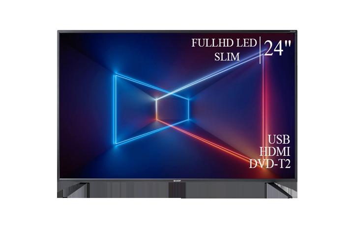 "Качественный телевизор Sharp 24"" FullHD/DVB-T2/USB"