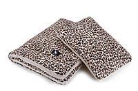 Плед с подушкой Cottonmoose Cotton Velvet 408/79/118 pantera cotton velvet cream леопардовый с кремовым (бархат)