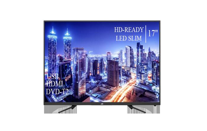 "Качественный телевизор JVC 17"" HD-Ready+DVB-T2+USB"