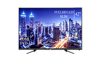 """Качественный телевизор JVC 42"""" FullHD+DVB-T2+USB, фото 1"""