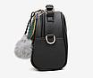 Сумка женская кожаная кросс боди через плечо Stylish bag Лиловый, фото 3