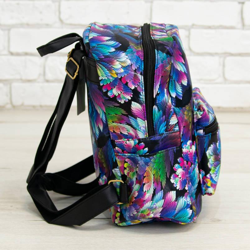 Оптом красивый модный и практичный рюкзак со стильным принтом (арт. 30-3202), фото 2