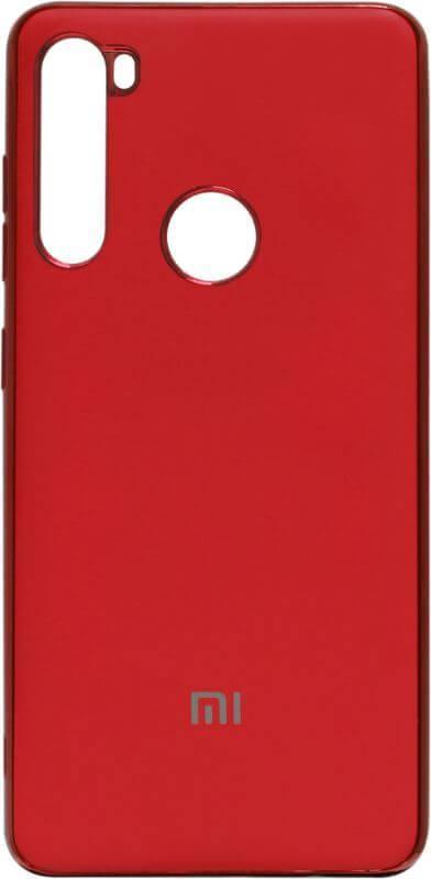 Силикон Xiaomi Redmi Note8T red Matte Gloss