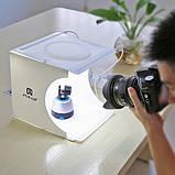 Фотобокс с подсветкой Puluz PU5022 LED 24x23x22см, фото 3