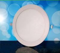 Светильник светодиодный Biom PL-R18 W 18Вт круглый белый