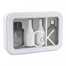 Подарочный набор Calvin Klein Travel Edition 4 в 1 Уценка