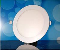 Светильник светодиодный Biom PL-R12 WW 12Вт круглый теплый белый