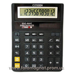 Калькулятор настольный CITIZEN SDC 888T - 12