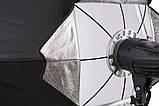 Софтбокс октагон AccPro SB-120 (120см), фото 7