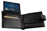 Мужское портмоне кожаное черное Eminsa 1065-4-1, фото 5