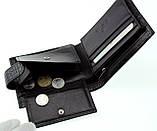 Мужское портмоне кожаное черное Eminsa 1065-4-1, фото 7