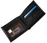 Мужской кошелек кожаный черный Eminsa 1028-17-1, фото 3