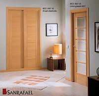 Двери межкомнатные  натуральный шпон Sanrafael(Испания)