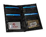 Мужской бумажник кожаный черный Eminsa 1083-52-1, фото 3
