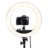 Кольцевой свет Visico RL-18BII-E AC/DC Ring Light (55W) Energy Kit, фото 4
