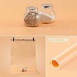 Фон для съёмки Visico PVC-1020 Orange (100x200см), фото 2