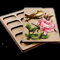 Органайзер с крышкой под вышивку бисером FLZB-070