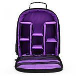Рюкзак Huwang DAC-3461P black/purple, фото 3