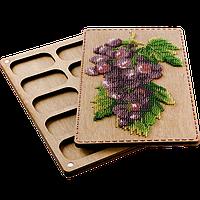 Органайзер с крышкой под вышивку бисером FLZB-072
