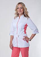 "Медицинский костюм женский ""Health Life"" коттон 3224"