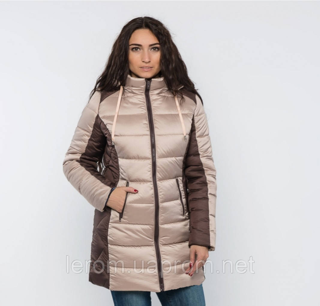 Зимова куртка великих розмірів від виробника