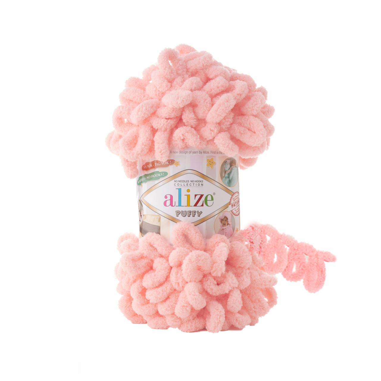 Пряжа фантазійна Alize Puffy № 722