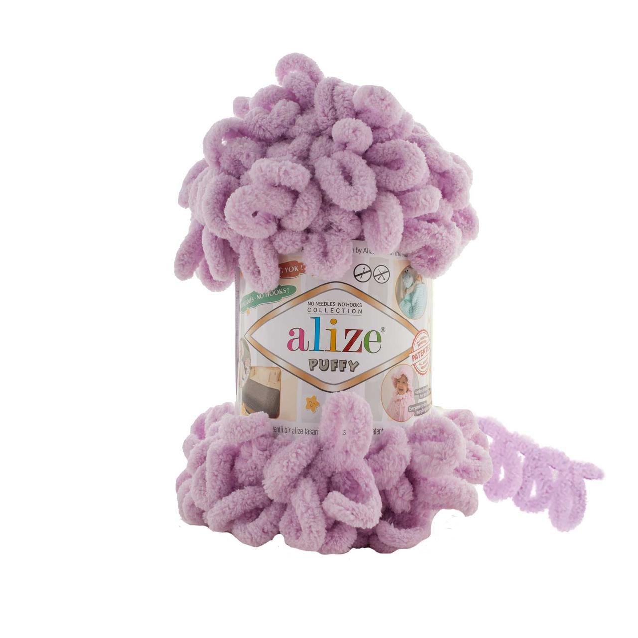 Пряжа фантазийная Alize Puffy № 723