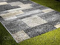 Тканная Серая ковровая дорожка Daffi, Karat Carpet: 80; 90; 100;120; 150; 200; 250; 300; 400 см