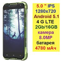 Водонепроницаемый смартфон Blackview BV5000