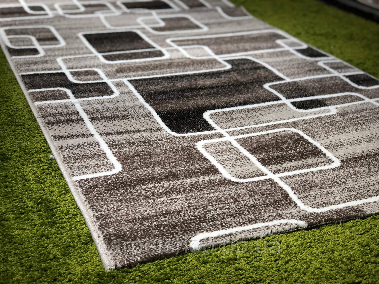 Тканная бежевая ковровая дорожка Cappuccino, ширина: 80; 120(ост285); 150(тос150); 200(ост174)см
