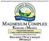 Magnesium complex Магній Хелат, NSP, НСП, США Підтримка скелетної системи людини, фото 3