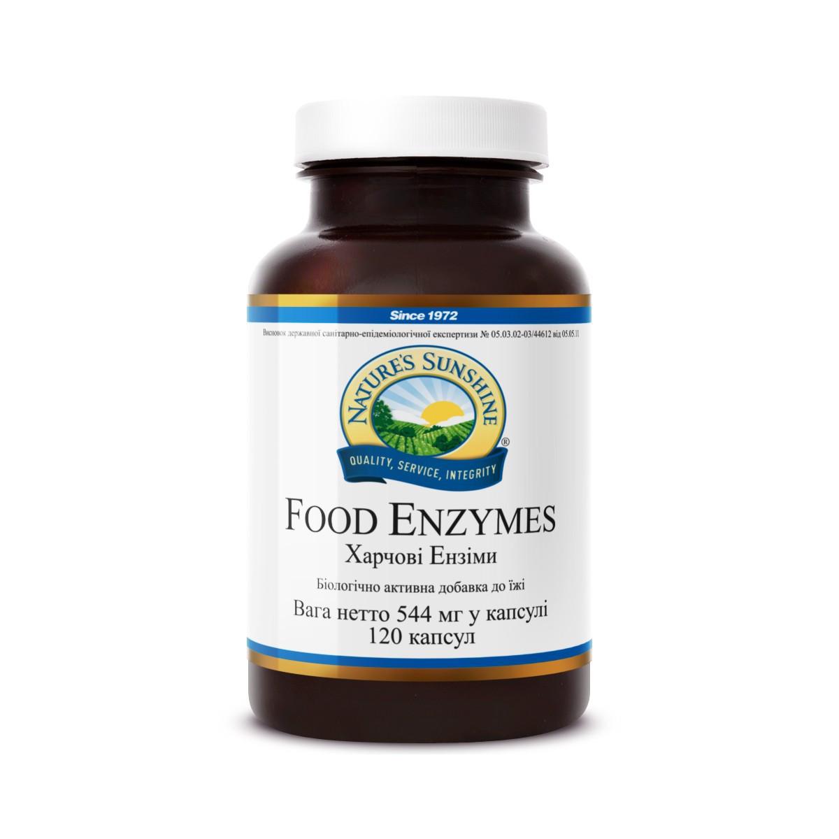 Food Enzymes Травні ферменти, NSP, НСП, США