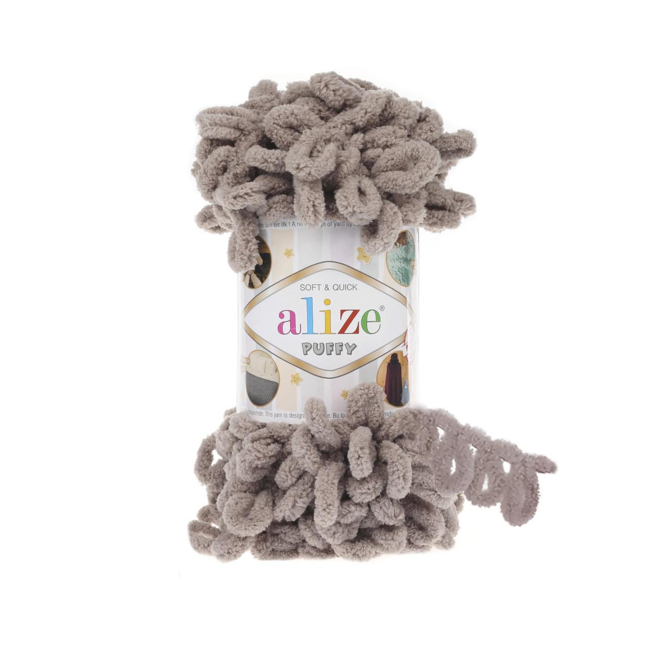 Пряжа фантазийная Alize Puffy № 268