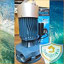 Бытовой наружный вертикальный насос БЦН для полива огорода Poseidon 5-18-0,75, фото 3