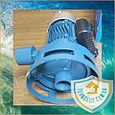 Бытовой наружный вертикальный насос БЦН для полива огорода Poseidon 5-18-0,75, фото 4