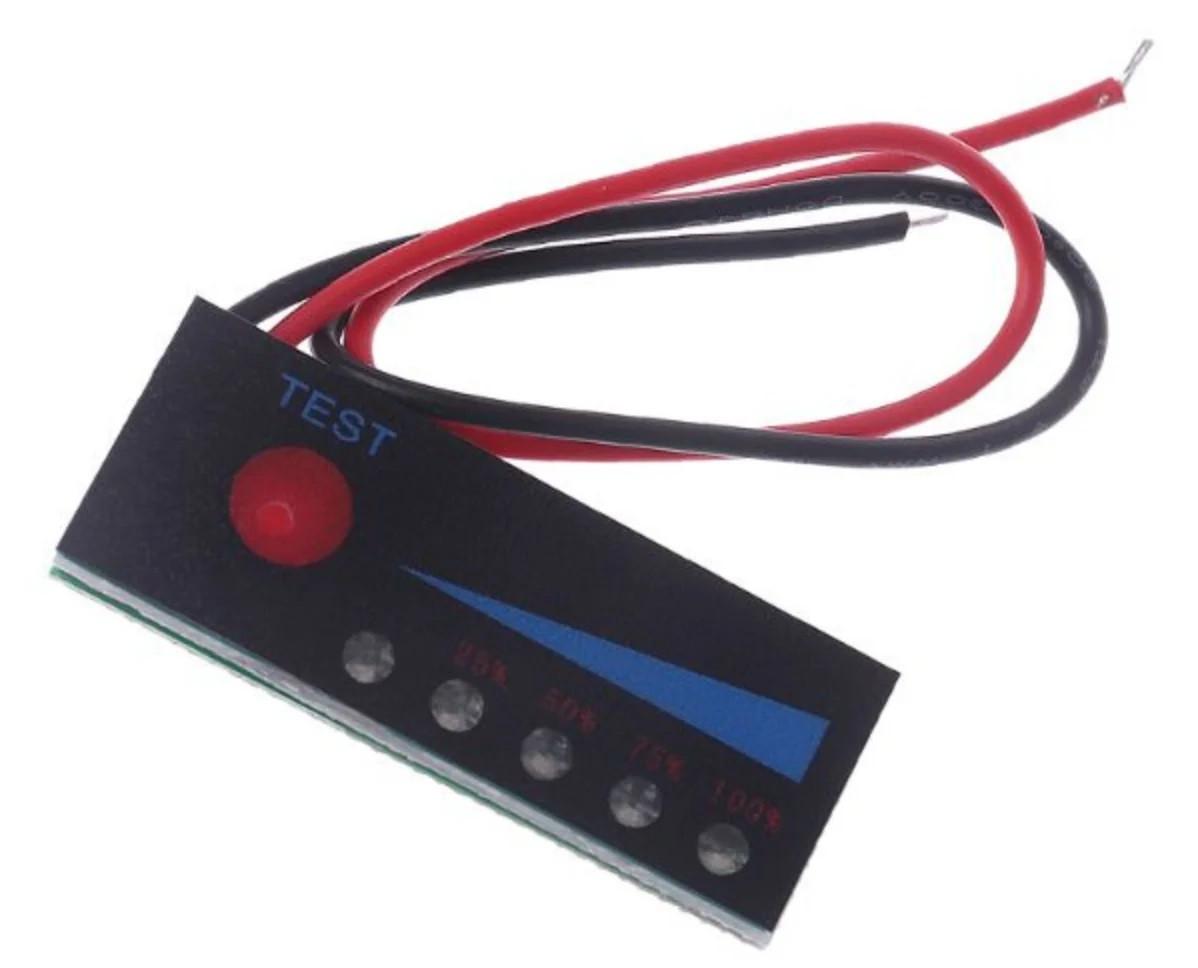 Индикатор емкости 5S 21В светодиодный