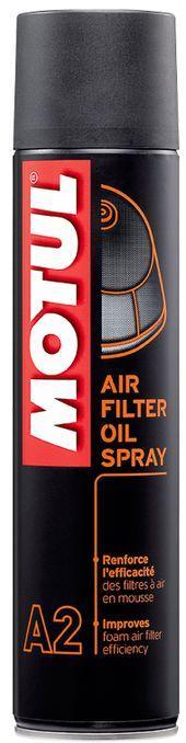 Масло для воздушных фильтров  Motul A2 AIR FILTER OIL SPRAY (400ML)