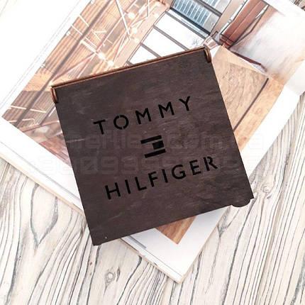 Деревянная коробка для ремня Tommy Hilfiger, фото 2