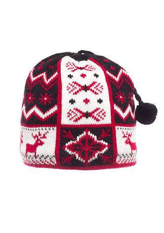 Детская оригинальная красивая вязанная шапочка ., фото 2