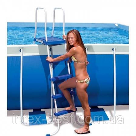 Лестница для бассейна Intex 58974 (122 см.), фото 2