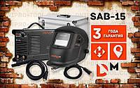 Сварочный аппарат IGBT Dnipro-M SAB-15 + Набор сварочных кабелей WS-3216C