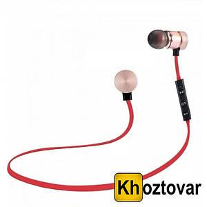 "Вакуумные наушники ""T"" Sports Sound Stereo   Bluetooth наушники с гарнитурой"