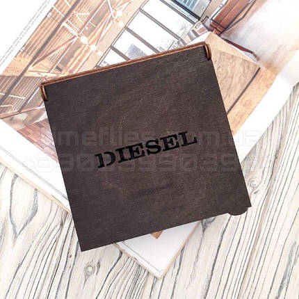 Дерев'яна коробка для ременя Diesel, фото 2