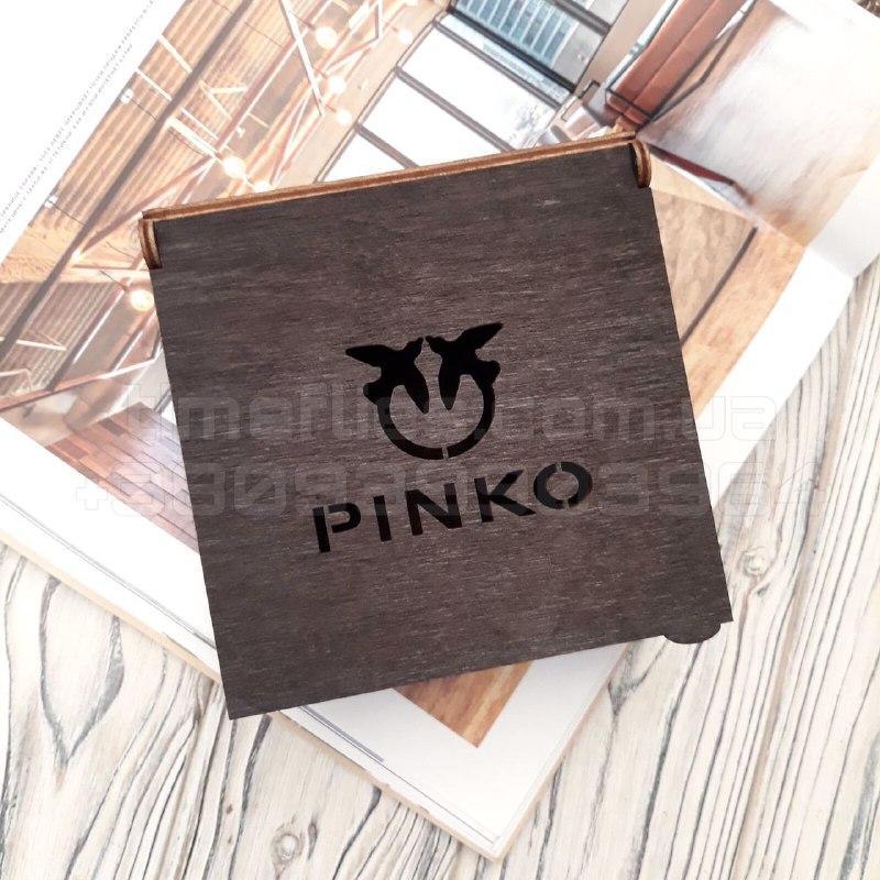 Деревянная коробка для ремня Pinko